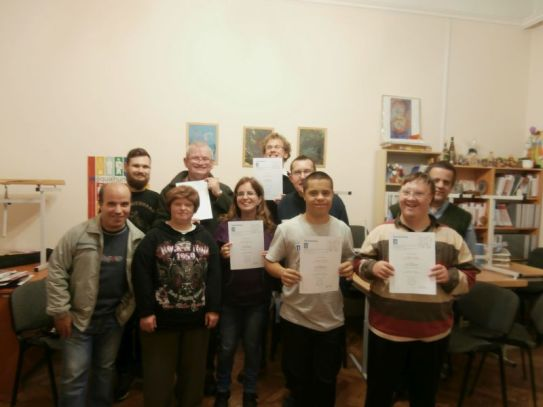 Beszámoló az önérvényesítő csoport önismereti foglalkozásairól