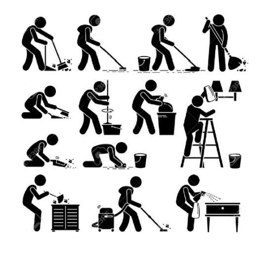 Könnyen érthető segítség a háztartási munkákhoz