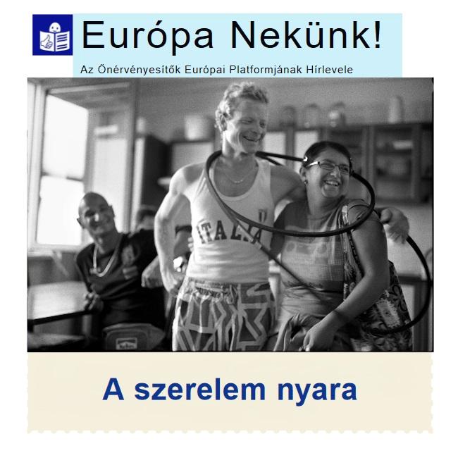 A Szerelem nyara – Az Európa Nekünk önérvényesítő hírlevél legújabb száma