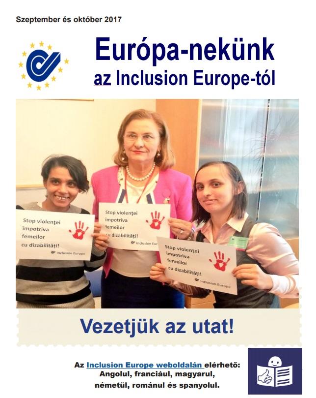 Európa Nekünk! Az európai önérvényesítők hírlevele