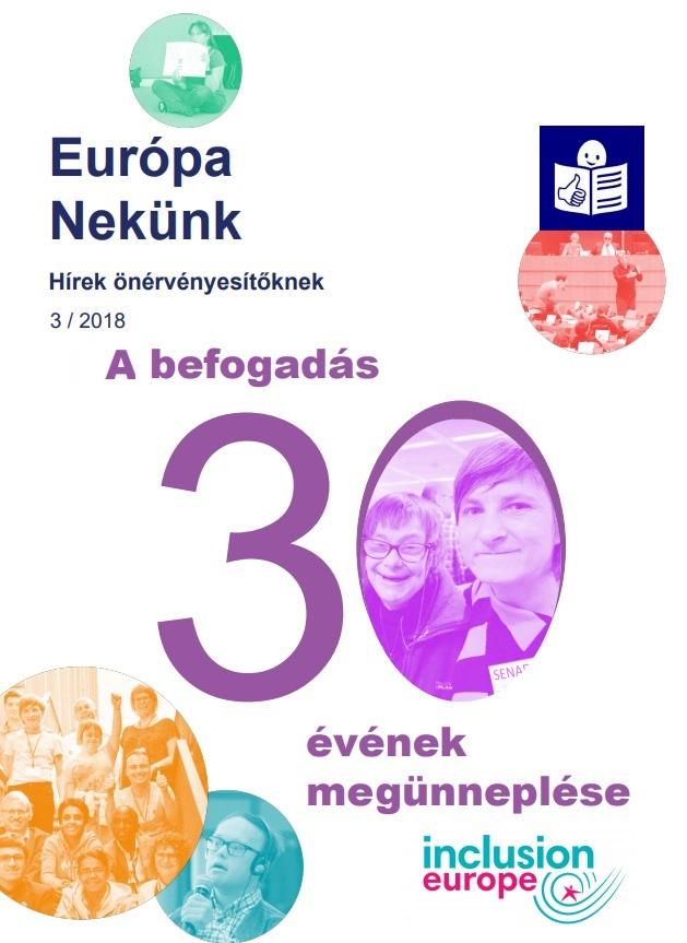Megjelent az európai önérvényesítők új, könnyen érthető hírlevele!