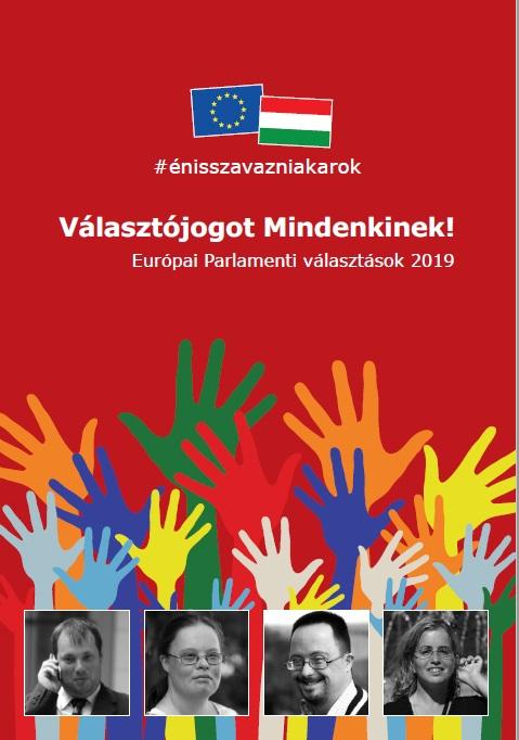 Választójogot mindenkinek! – Könnyen érthető kiadvány az európai parlamenti választásokról