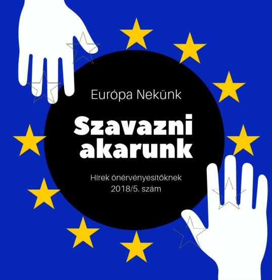 Szavazni akarunk! – Európa Nekünk hírlevél