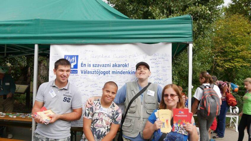 Önálló életviteli workshop a Sérült Gyermekek Napján