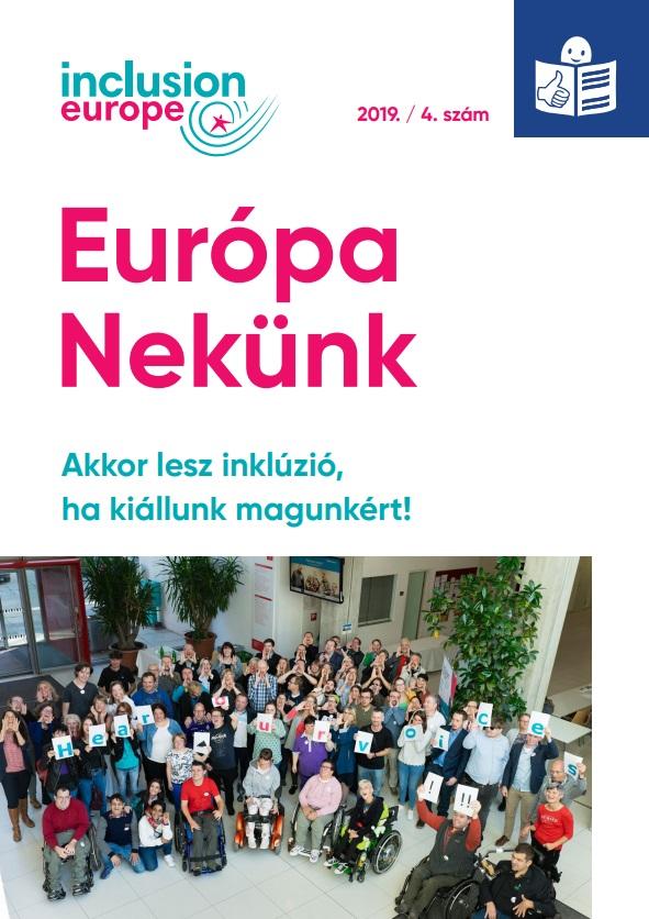 Európa Nekünk hírlevél, 2019. decemberi szám