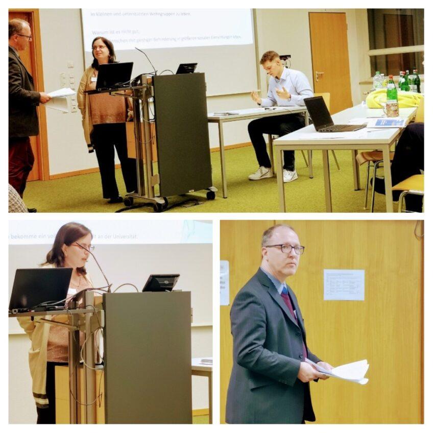"""""""Nagyon fontos, hogy a gyógypedagógusok könnyen érthetően beszéljenek az értelmi fogyatékossággal élő emberekkel."""" – Beszámoló a németországi EASIT konferenciáról"""