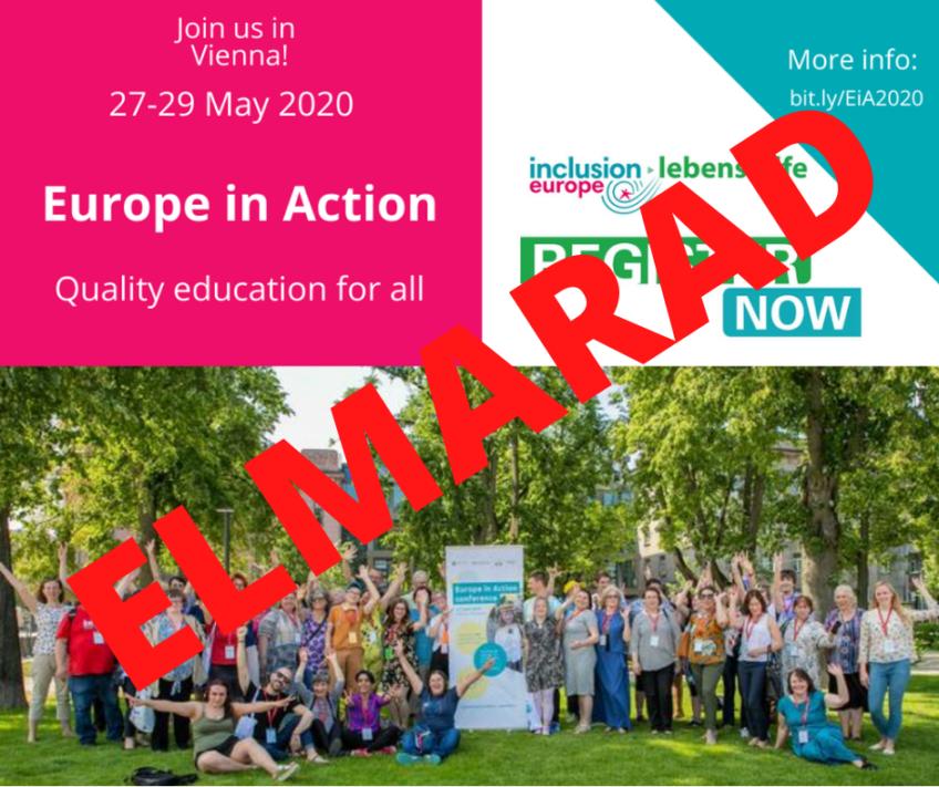 Elmarad a 2020-as Europe in Action konferencia