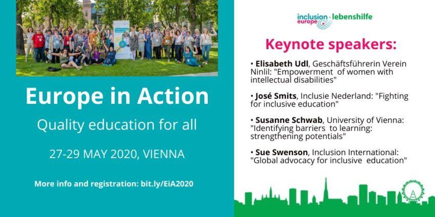 Gyere el a 2020-as Europe in Action konferenciára!