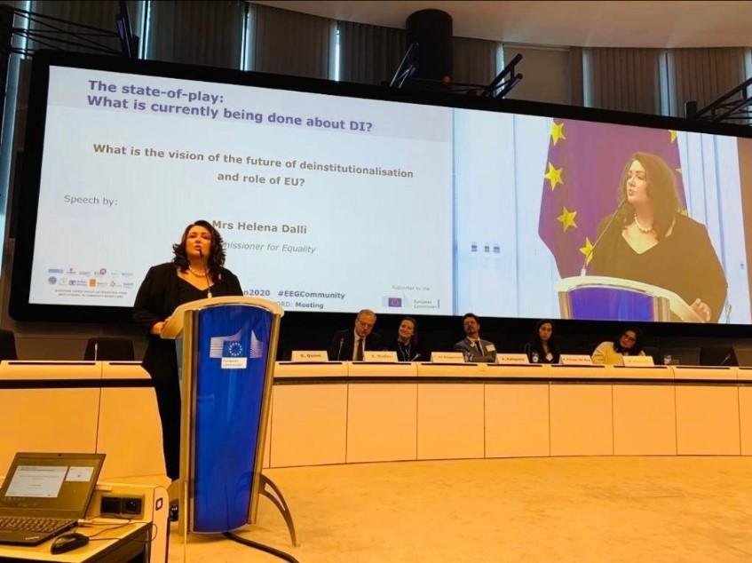 Helena Dalli európai uniós biztos is felszólalt a kiváltásról szóló konferencián