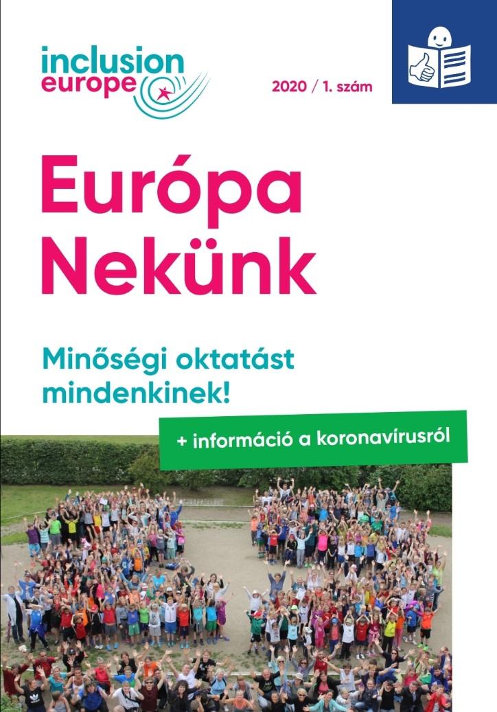 Európa Nekünk hírlevél – Első szám 2020-ban